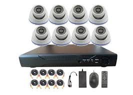 pl 2 mega pixel 8 channel outdoor home security camera systems with nvr