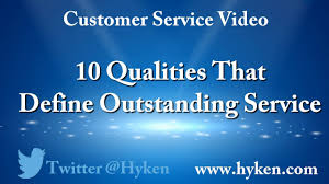 Define Customer Service 10 Qualities That Define Outstanding Customer Service