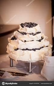 Delicious Tasty Wedding Cake Detail Stock Photo Annabieniek