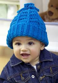 Free Crochet Hat Patterns For Toddlers Inspiration Stretchy Kid's Hat Crochet Pattern FaveCrafts