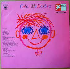 color me barbra 1966 vinyl discogs