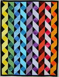 Do you recognize the designer of this triangle quilt? – All About ... & Ribbon Quilt from Pinterest Adamdwight.com