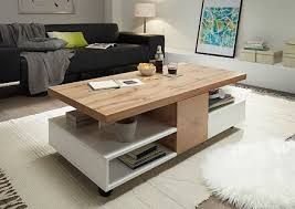oak effect finish relon coffee table