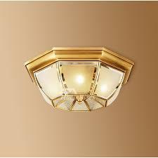 golden ceiling light fixtures bedroom