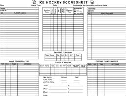Hockey Score Sheet Magnificent Hockey Stat Sheet Heartimpulsarco