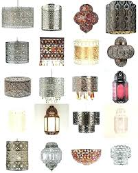 small clip on lamp shades for chandelier uk chandeliers drum crystal table lamps shabby chic light