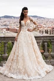organza wedding gowns. Discount Long Sleeves 2018 Organza Wedding Dresses Bridal Gowns