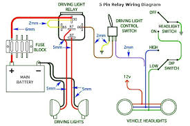 5 pin relay wiring diagram driving lights 5 Pin Relay Wiring Diagram wiring diagrams for hid driving lights and spot lights 5 pin relay wiring diagram in pdf