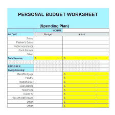 How To Plan A Personal Budget Financial Planner Sheet Monthly Budget Excel Planning Spreadsheet