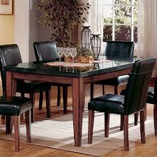 MarbleGraniteStone Top Dining Tables Cymax Stores Fascinating Granite Dining Room Tables And Chairs