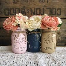 Mason Jar Decorations For Bridal Shower Mason Jar Centerpiece Ideas Vintage Wedding Centerpiece This Mason 24