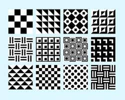 Simple Patterns Extraordinary Simple Black And White Patterns 4848 Free Downloads At Vecteezy