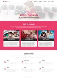 Kids School Website Template 75 Most Popular Educational Website Templates Free Download
