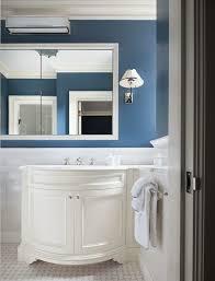 curved sink vanity