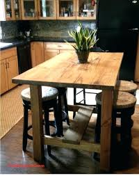 steampunk tables steampunk dining table counter height kitchen island stained in golden oak best farmhouse dining