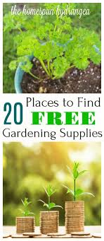 where to find free garden catalogs and supplies