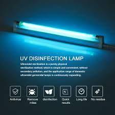 Satın Al Yatak Odası / Hastane 110V 220V Için 8W Antiseptik Işık T5 Tüp UVC  Sterilizatör Öldür Tozu Mayt Eliminator UV Kuvars Lamba, TL86.34