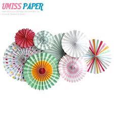 paper fans decorations fold paper fans hanging pinwheel for party decorations set of paper fans for paper fans