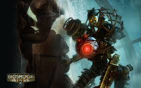 big daddy bioshock wallpaper