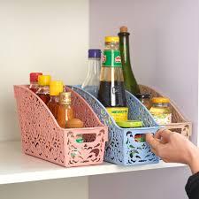 <b>Simple life</b> Thick Plastic Storage Basket Desktop <b>Bathroom</b> Family ...