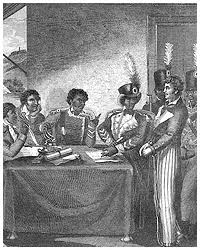 the an revolution  enslaved blacks in the french sugar plantation colony there who risked everything to pursue dom in 1791 the outbreak of the an revolution