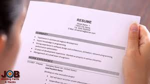 Get A Better Resume Hacks Suggestions Youtube