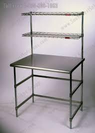 table metal top shelving storage table metal top shelving storage
