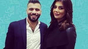 عماد متعب وزوجته هكذا شجعا مصر