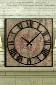 large vintage wall clocks square black glass clock extra uk