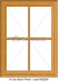 wooden window frame. Wonderful Frame Wooden Window Frame  Csp41632234 On O