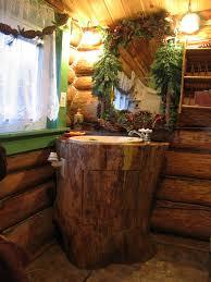 Cabin Bathroom Log Cabin Bathroom Sink Sensational Rustic Bathroom Ideas Sink