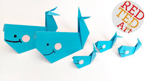 easy origami whale paper crafts finding dory paper whale bailey you