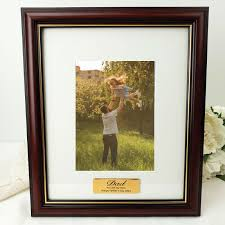 gifts for dad dad classic wooden 5x7 photo frame with message free