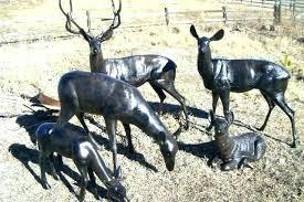 deer garden statues concrete deer garden statue deer garden statues s metal deer garden ornaments deer