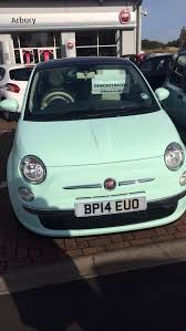 Fiat 500 Colour Chart Fiat 500 Lounge 1 2 In The New Mint Green Pastel Colour 64