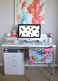 home office colorful girl. Love The Colorful Chair! Home Office Girl