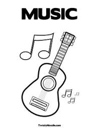 Small Picture This website has free coloring pages for flute piano guitar