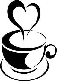 tea cup heart clip art.  Art Love Heart Steam Tea Cup Wall Sticker Kitchen Art For Clip
