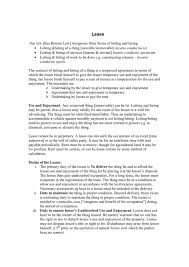 Lease Agreement Form In Word And Pdf Formats