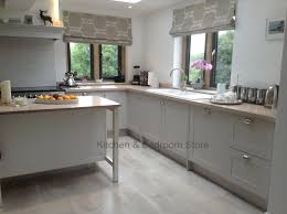 Modern Kitchen And Bedroom Painted Shaker Style Kitchen With A Modern Country Feel In Farrow