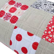 25+ unique Straight line quilting ideas on Pinterest   Machine ... & Red Pepper Quilts: A Classic Patchwork QuiltI love the simple lines of the  quilting Adamdwight.com