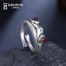 <b>GOMAYA</b> Antique <b>Silver</b> Plated Punk Vintage Rock Maya Figure ...