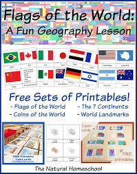These flags of the world. Fantastic Country Flags Of The World With 4 Free Printables The Natural Homeschool
