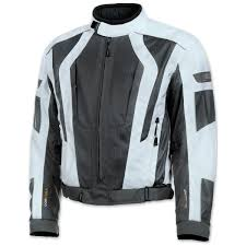 olympia moto sports men s airglide 5 mesh tech ivory jacket