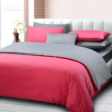grey bedding sets queen creative of bed sheets queen size pure color home textile pink and