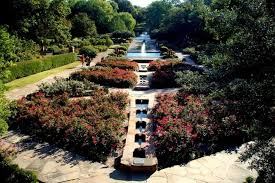 fort worth botanic gardens rose garden