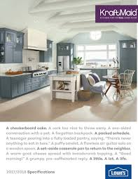 Cabinet Door Specifications Kraftmaid Cabinetry