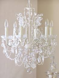 6 arm leafy antique white crystal chandelier detailed photos