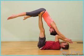 easy yoga poses for couples