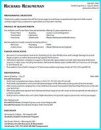 aircraft maintenance technician resume mechanic resume skills mechanic resume cover letter cover letter